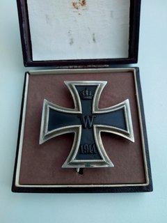 Залізний хрест 1 степені, ПСВ.