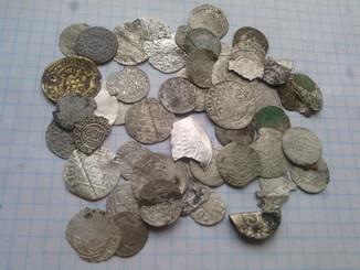Средневековое серебро
