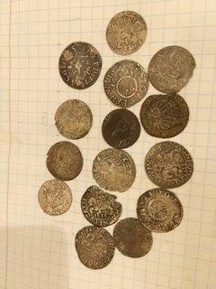 Монеты 15шт.