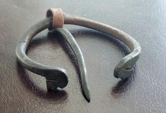 Зооморфна фібула - сюльгама, балтський тип 11-12 ст.