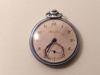 Часы карманные Кристалл. Рабочие.