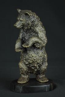 Медведь, бронза