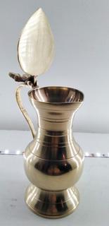 Кувшин - сливочник бронзовый, старинный.