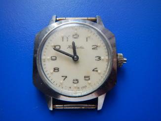 """Часы """"Raketa"""" для незрячих"""