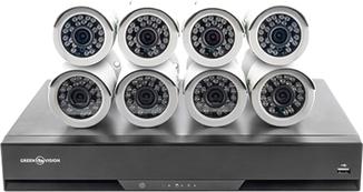 Комплект видеонаблюдения GV-IP-K-S32/08 1080P