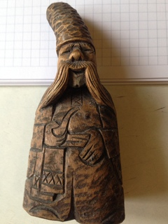 Резьба по дереву «Старик гуцул»