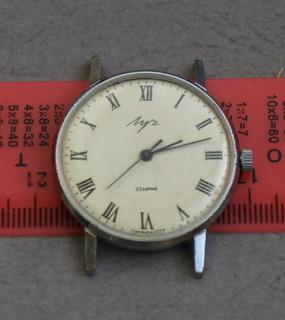 Часы Луч плоский