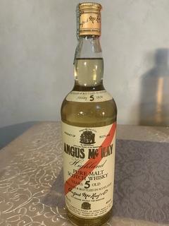 Односолодовый виски Angus Mc Kay 1990-е