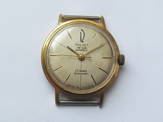 Часы Poljot de luxe automatic 29 jewels made in USSR . Полет де люкс Au20