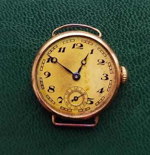 Старые золотые часы Омега