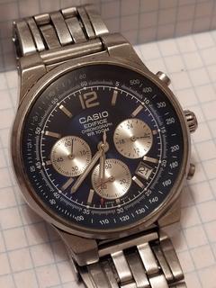 Часы Casio хронограф 2711 EF-500(рабочие).
