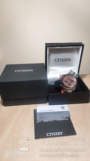 Часы хронограф Citizen eco-drive,hr 200 m japan