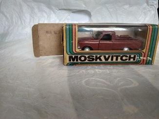 Масштабная модель москвич пикап с коробкой