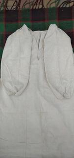 Сорочка Черниговская старинная вышивка(геометрическая) на полотне.