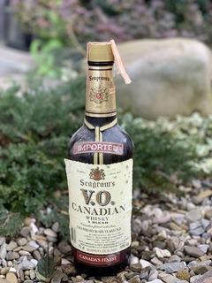 Whisky Seagrams VO 1980s