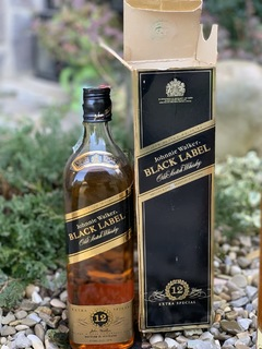 Whisky Johnie Walker Black Label 1990s