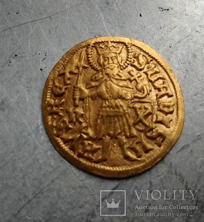 Угорський золотий голдгульден Матвія Корвіна