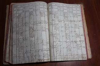 Метрическая книга времена Австро-Венгерской империи 1784 год