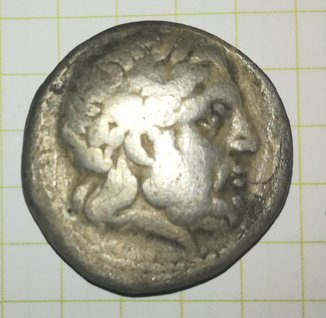 Тетрадрахма Филиппа 2-го Македонского