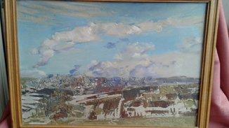 Картина пейзаж художник В.Тышецкий 2004г.