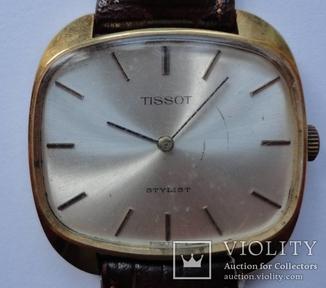Tissot Stylist в позолоте