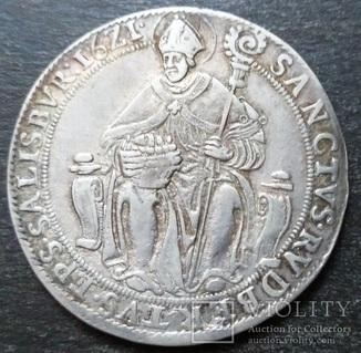 Талер, Зальцбург, 1621 г. архиепископ Парис фон Лондрон.