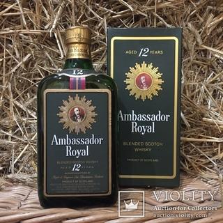 Виски Ambassador Royal 12 years 1970s