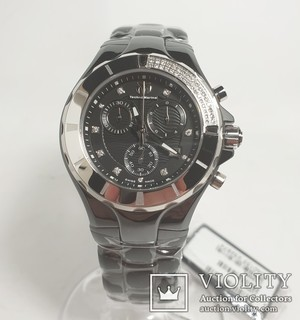 TechnoMarine Cruise Chronograph 110029C black dial