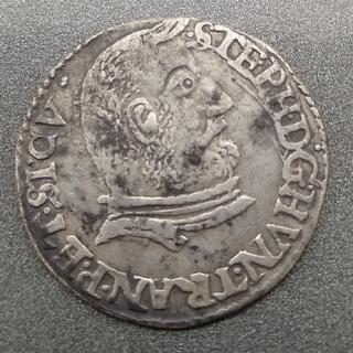 Трояк 1607. (Трансильвания, Иштван Бочкаи, 3 гроша 1607 - посмертный выпуск)