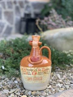 Whiaky of ye Monks ceramic 1980s