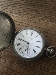 Карманные часы Павел Буре под Герб/Орла