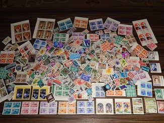 Почтовые марки разных стран мира 375шт.