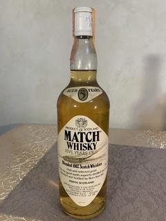 Виски Match 5 Y.O. 1980-е