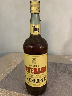 Хересный бренди Veterano 1987 г. 1.0  л.