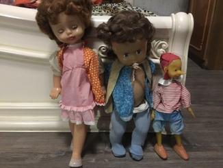 Куклы пупс буратино 3шт