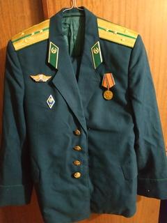 Парадная форма капитана ПВ КГБ