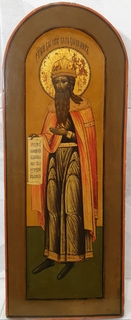 Икона ''Святой равноапостольный князь Владимир'', Мстера ХІХ в.