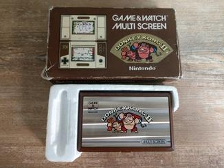 Nintendo Game & Watch Donkey Kong II 2 Handheld Electronic Multi-Screen 1983 год