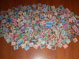 Коллекция старинных почтовых марок разных стран мира 172 шт. (Есть колонии и Третий Рейх.