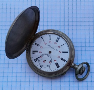 Карманные часы Г. Мозер под ремонт