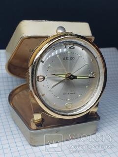 Дорожные часы Seiko Diafix 8 Jewels Japan