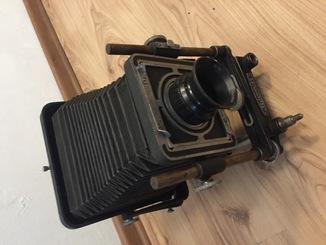 Камера Восток форматом 9х12 см., предназначавшаяся для студийных и павильонных съемок