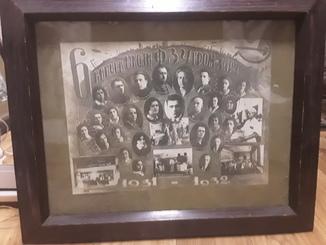 6ой выпуск школы ФЗУ гром-харч 1932г.