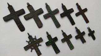 Кресты 16-18 в. 10 шт