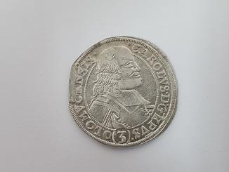 3 крейцера 1695 SAS Лихтенштейн-Кастелькорн (Епископство Оломоуц) Карл I №3