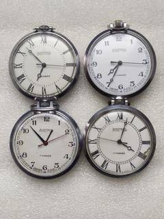 Часы Восток карманные 4 шт.