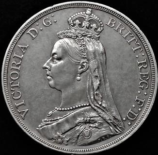 1 крона 1887 року, Вікторія
