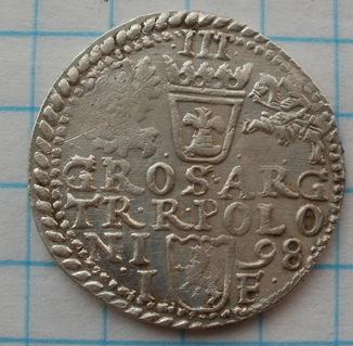 Трояк 1598 г