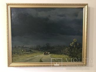 """Картина Н.Луговенко """"Перед грозой"""" х.м.47х60см."""
