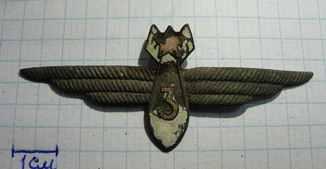 Военный штурман 3-го класса нагрудный знак